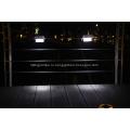 Солнечной светодиодный водонепроницаемый сад забор лампы настенный светильник