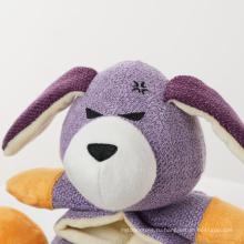 Экологичная пищащая милая мягкая плюшевая игрушка для собак