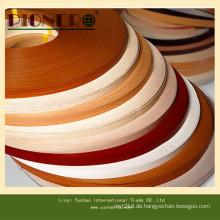 Feste Farbe und Holzmaserung PVC-Kantenband