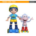 High Quality Boy's Musical Infrared Remote Control Large Plastic Dolls With Monkey
