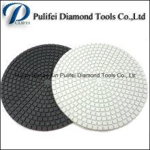 4 '' 5 '' 6 '' 8 '' 200mm diamant polissage humide flexible de finition de garniture de polissage