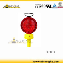Hx-Wl10 Warning Lamp Flashing Warning Light LED Amber (Two transparent sides, ultra bright LED)