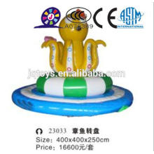 JQ23033 outdoor giant inflatable octopus wheel bounce park jumping bouncer