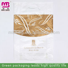die-cut puching plain mouth take-away bread package