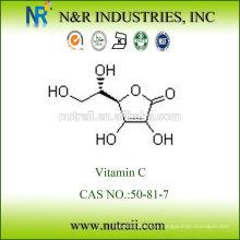 BP2012 / USP35 vitamina c materias primas / ácido ascórbico precio 50-81-7 GMP Disponible