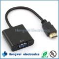 OEM 1080P Mann zum weiblichen 1.4HDMI zum VGA Konverter-Kabel