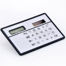 8 Digits Ultra Thin Slim Mini Credit Card Pocket Calculator