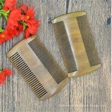 fabricación de peine para el cabello hecho a mano