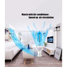 Precio de fábrica de alta eficiencia de control remoto 18 '' LED ventilador eléctrico sin cuchillas