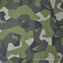 Camouflage bleu ignifuge de haute qualité