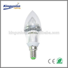 high lumen led candle light , led candle bulb