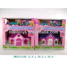 Popular kids toy doll house play set