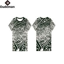 2017 personalizado algodão dri fit em branco personalizado t-shirt atacado