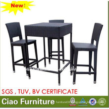 Rattan Bar Table Bar Stool Chairs