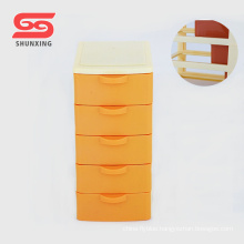 multipurpose mini storage box plastic chest of drawers with high quality