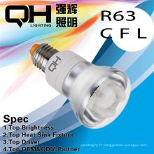 En aluminium réfléchissant Ampoule R63 R80 Saveing luminothérapie