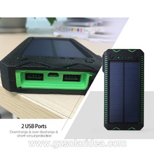 Waterproof And Flameproof Best Portable Solar Power Bank