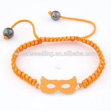 Party mask rope bracelets bangles