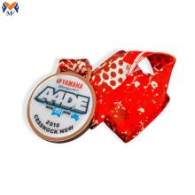 Adesivos de medalha em branco personalizados com epóxi
