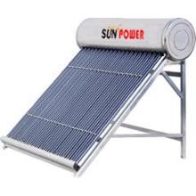 Chauffe-eau solaire à basse pression compacte