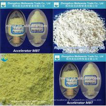 borracha de vulcanização acelerador MBT (M) por r NR, IV, SBR, NBR, HR e EPDM CAS NO.: 149-30-4