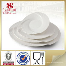 Квадратная посуда наборы итальянской керамической блюдо, десертная тарелка