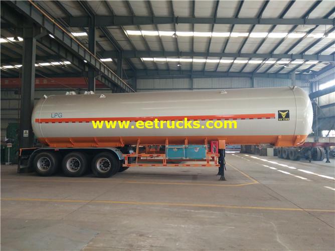 56000 Liters LPG Tanker Trailers