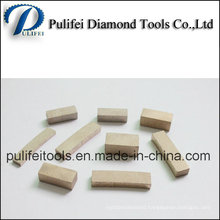 Quanzhou Fast Cutting Speed High Quality Marble Granite Basalt Segment