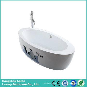 Hot Sell Modern Acrylic Freestanding Bathtub (LT-6E)