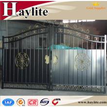 jardín hermosa puerta de hierro para diseño floral de nigeria