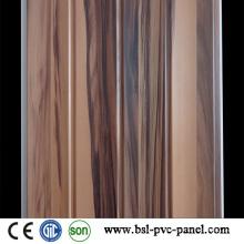 Neues einzigartiges hölzernes Entwurfs-Muster der laminierten PVC-Wand-Verkleidung PVC-Decke Hotselling in Pakistan