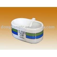 керамическая чашка мороженого