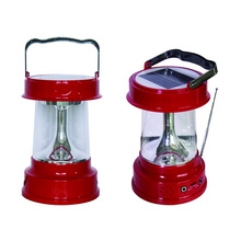 Outdoor Portable Radio Function Solar Lantern