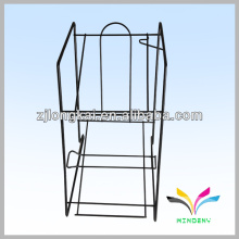 Sturdy space-saving black 5 tiers foldable flooring power rack