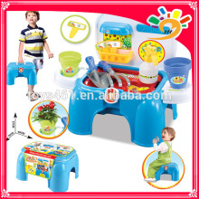 Gartenarbeit Werkzeuge Kinder Spielzeug Schrank erhalten einen Stuhl