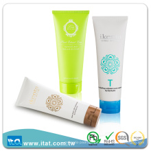 Échantillon gratuit Crème à la main vide Étui en plastique plastifié pour nettoyage facial