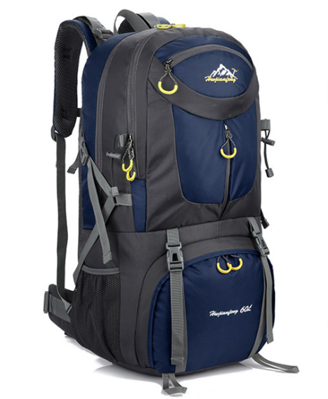 High Capacity Backpack Navy