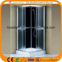Квадратные серые стекла 90*90 см душевая кабина (АДЛ-880)
