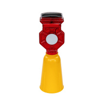 road construction solar auto led safety warning lights