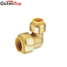 "(2C-JELLY192)Lead Free Brass 1/2"" 3/4"" 1inch Thread Pipe Elbow Fittings Female x Male Cast Iron Brass"