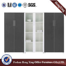 6 Doors Office Bookcase Modern Melamine Office Furniture (HX-4FL021)