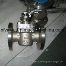 API 6D Standard Cast Stainless Steel Manual Plug Valve