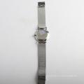 Silber Mesh Starp Uhr Edelstahl Paar Uhr Damen Quarz, Hersteller von Armbanduhr
