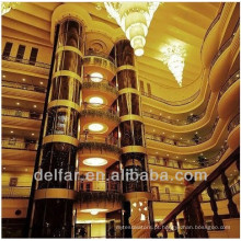Observação elevador, elevador panorâmico, sightseeing elevador