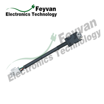 China for Servo Harness MITSUBISHI Servo System Custom Servo Cable Assembly supply to Nepal Exporter