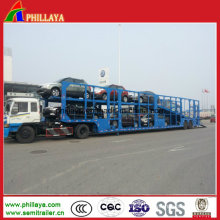 Double Axles 6-32units Transporting Car Carrier Semi Trailer