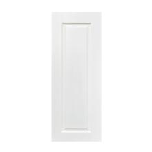 white prime door skin white lacquer door primer wood grain white topcoat doors factory price GO-B12-FG