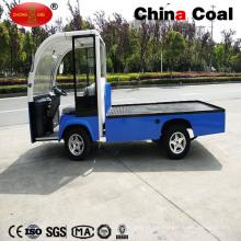 2t kleine Mini elektrische Logistik Transport Flachbett laden LKW