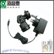 Changeable Plugs Switching Adapter Wall Mount Power Supply