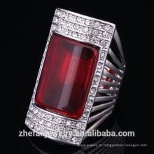 Design de anéis de noivado egípcio com pedras preciosas anel de jóias de cristal para mulheres jóias ródio é sua boa escolha